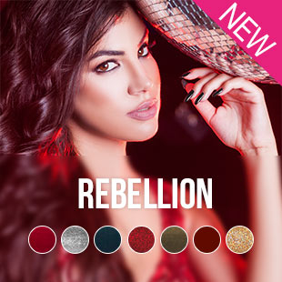 Pink Gellac Rebellion Collection colours