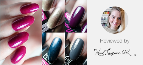 Pink Gellac Majestic Collection Review 03