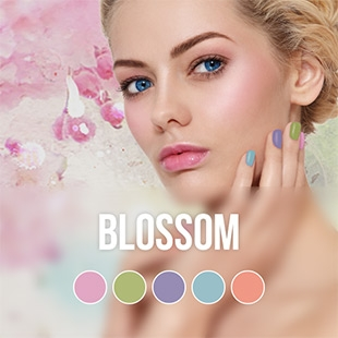 Blossom gel nail polish colour collection