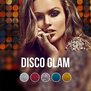 Disco Glam gel nail polish colour collection