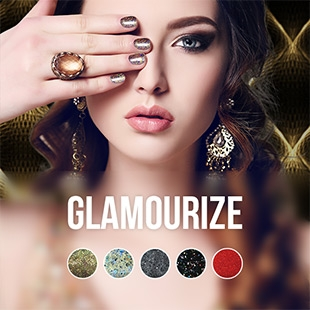 Glamourize gel nail polish colour collection
