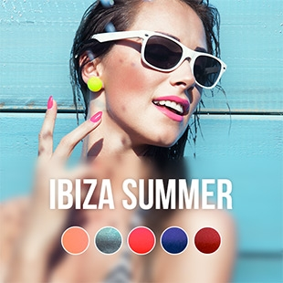 Ibiza Summer gel nail polish colour collection