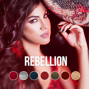 Rebellion gel nail polish colour collection