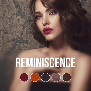 Reminiscence gel nail polish colour collection