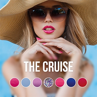 The Cruise gel nail polish colour collection