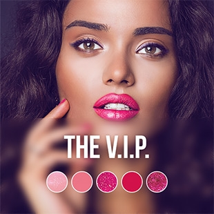 V.I.P. gel nail polish colour collection