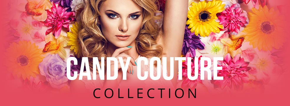 Candy Couture Gel Nail Polish Colour Collection by Pink Gellac