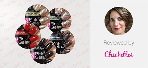 Pink Gellac Glamourize Review collection