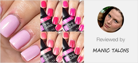 Pink Gellac Vip Review collection