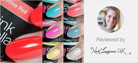 Pink Gellac Candy Couture Collection Review 02