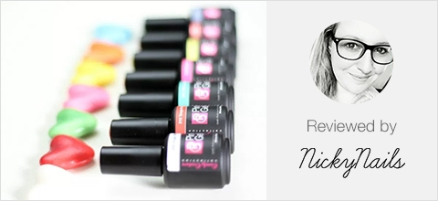Candy Couture Colour Collection Review by nickynails.nl