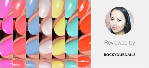 Candy Couture Colour Collection Review by rockyournails.org