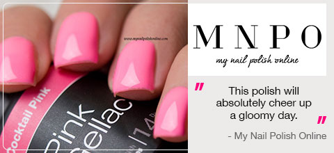 Pink Gellac Review My Nail Polish Online