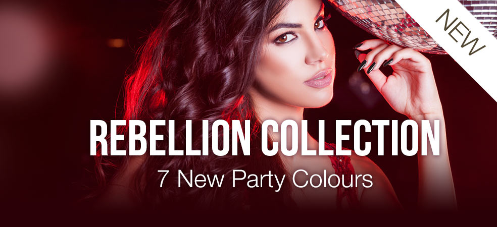 Rebellion Gel Nail Polish Colour Collection by Pink Gellac